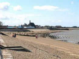 Sheerness beach