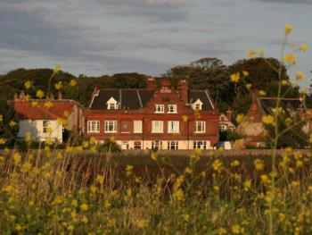 The George Hotel Cley - A view across the Famous Marshes