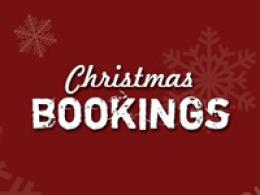 Christmas Party Bookings