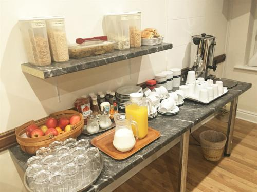 Continental and full cooked breakfast served every day