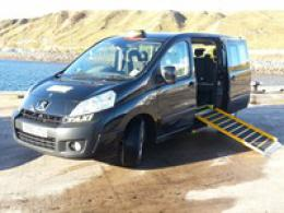 7 seater for prams & wheelchairs