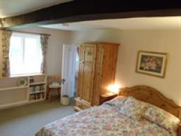 "King-size double, en-suite - the ""Rose Room"""