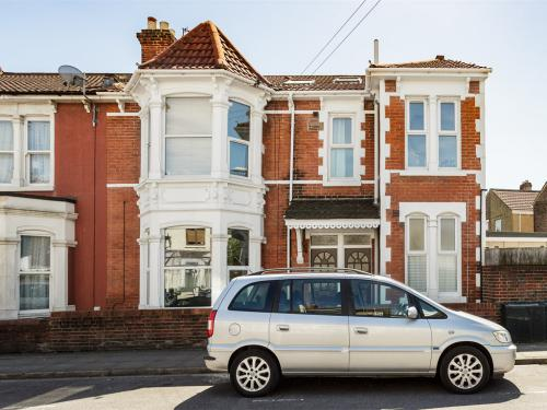 a spacious double-fronted converted flat