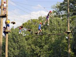 Adventre rope course