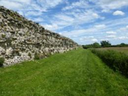 Silchester Roman Town Walls and Amphitheater