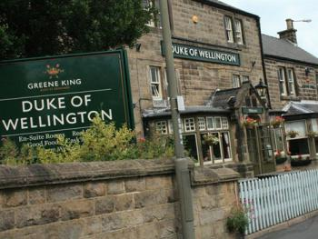 Duke of Wellington - The Duke of Wellington sits on Wellington Street in Matlock