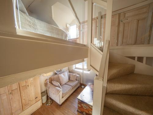Garden Room Lounge Stairs to Bedroom