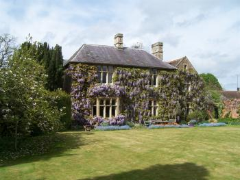 Heyford House Bed & Breakfast - The house in late spring