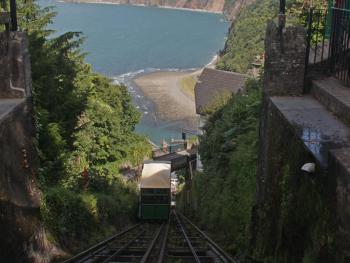 St Vincent Guest House - Lynton and Lynmouth Cliff Railway
