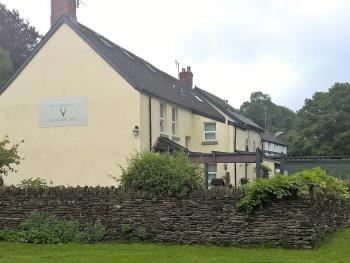Exmoor Lodge - The Lodge from Exford Green