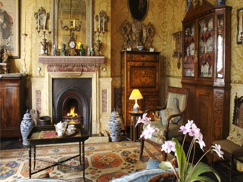 Drawing room by day | St Benedict B&B, Hastings