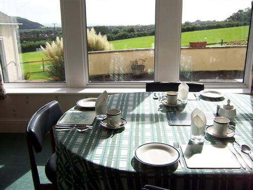 View to the Sea from the Dining Room