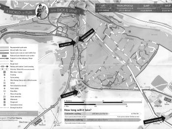 Widbrook Barns - TOWN MAP