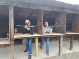Crossbow shooting and paintball