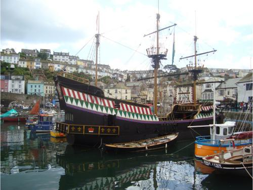 The pirate ship at Brixham