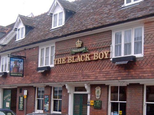 Bury Saint Edmunds United Kingdom  City pictures : The Black Boy Public House, Bury St Edmunds, United Kingdom Toprooms