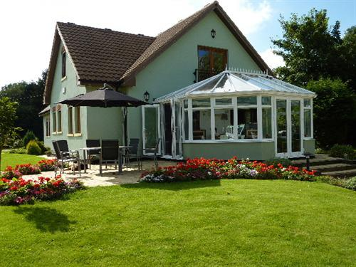 Our patio & Conservatory are available for use during the day