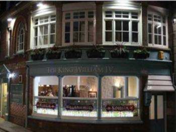 King William IV - Featuring our beautiful curved frontage with stained glass windows