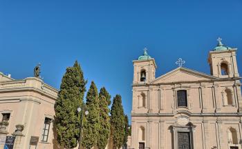 Kirche Tropea Stadt © Ferienwohnung Casa Belle Vacanze