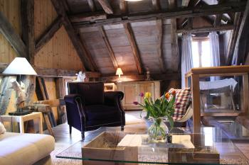 Salon boudoir à l'étage