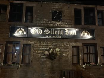 Old Silent Inn  - Old Silent at night