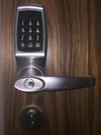 Key code entry system