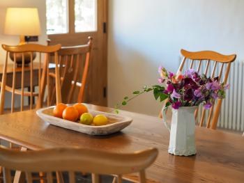 Homely dining room