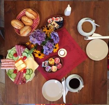 optiionales Frühstück