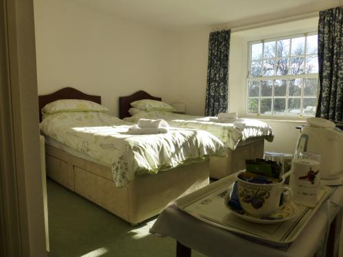 Twin room-Ensuite with Shower-Garden View - Base Rate