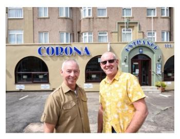 Corona Bed & Breakfast - Paul & Richard the owners