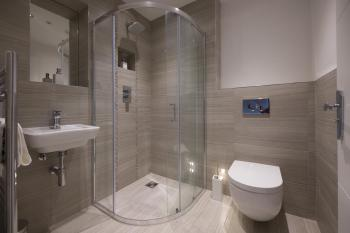 Newly fitted shower room.
