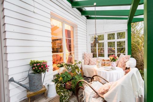 IgelnestRomantik-Cottage-Gartenblick-Eigenes Badezimmer