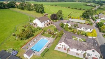Trenewydd Farm Holiday Cottages - Aerial shot