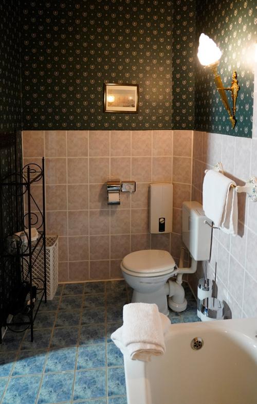Suite-Superior-Eigenes Badezimmer-Blick auf die Landschaft