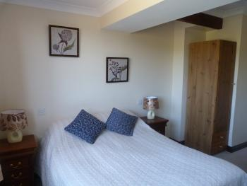 A smaller but pretty double room