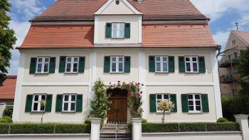 Blick auf Heimatmuseum Krumbach
