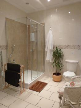 Private shower for Bedroom 3