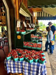 We are a fruit farming community- enjoy the local farm markets w/great baked goods, ice cream and more!