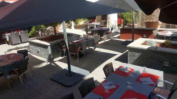 Terrasse d'été restaurant