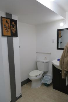 Second washroom, basement