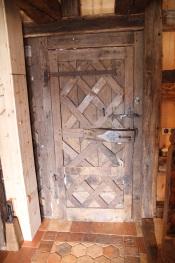 Porte d'entrée 19e provenant d'une église
