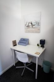 Ideal Home next to Queens Park - Manchester - Upstairs Work Area with free fast WiFi for a better work from home experience
