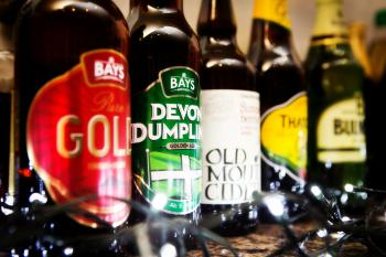 Good range of local ales
