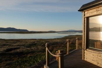 Waterside Cabin exterior