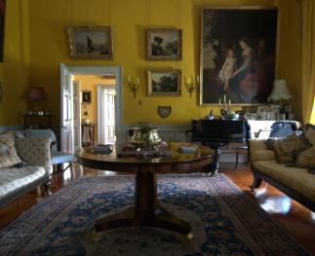 Yellow drawing room