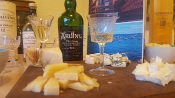 Malt Whisky tasting with cheese