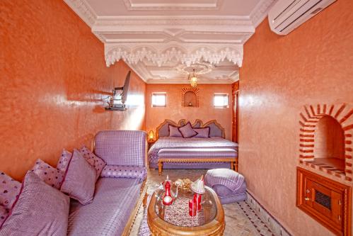 Chambre Double De Luxe avec Balcon