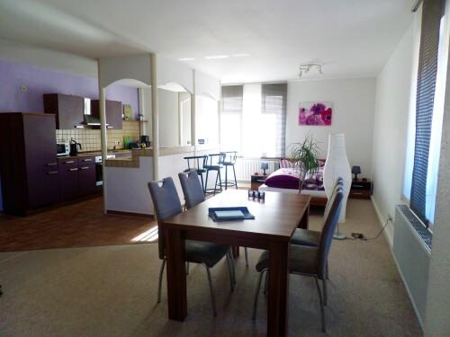 Ferienwohnung-Apartment-barrierefreies Badezimmer-Stadtblick-Ferienwohnung 1