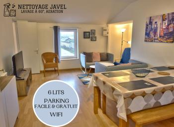 ⭐️Appartement cosy ⭐️6 lits pour 6 personnes, parking facile