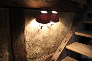 Murs traditionnels en torchis (terre/paille)